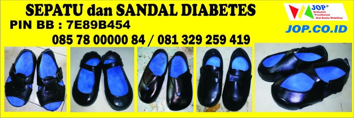 sepatu diabetes